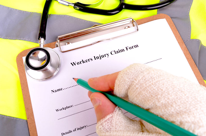 a workers compensation claim form